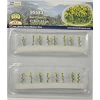 JTT Scenery Products Flowering Plants Series: Sunflowers, 1' [並行輸入品]