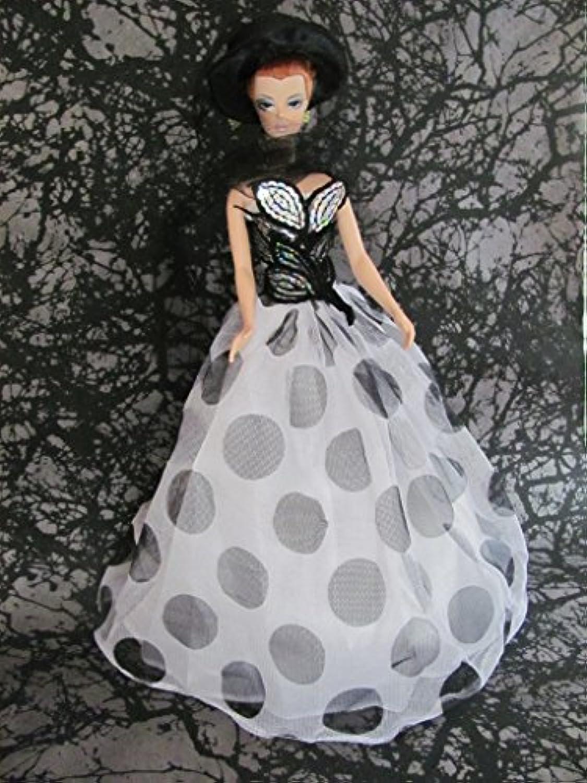 Helloホラーバービー人形Clothesドレス: Halloweenドレスwith帽子フィット11.5インチバービー人形
