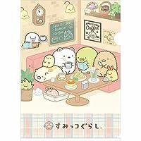 【すみっコぐらし】[555]クリアホルダー(食事)