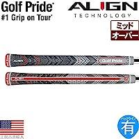 3ゴルフプライドMCC plus4 Align Midsizeゴルフグリップ – 18123