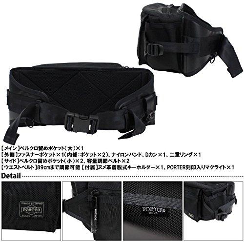 Yoshida Bag Porter Heat Waist Bag L Nylon 703-06978 New F S  19ecb4c81b56a