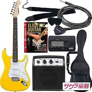 SELDER セルダー エレキギター ストラトキャスタータイプ サクラ楽器オリジナル ST-16/YW 初心者入門リミテッドセット