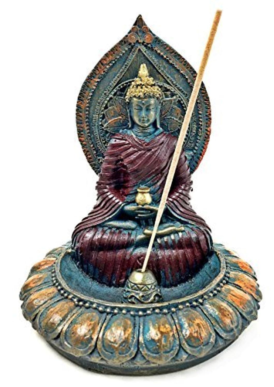 Incense Holder Buddha Incense Stick Holder [並行輸入品]