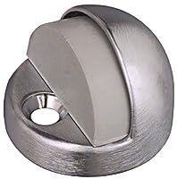 National Hardware N215-814 Floor Door Stop in Satin Nickel [並行輸入品]