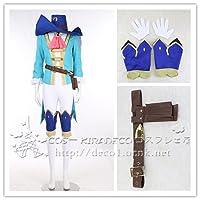 Fate/Grand Order フェイト・グランドオーダー シュヴァリエ・デオン 風 コスプレ衣装(オーダーサイズ製作可能) (女S)