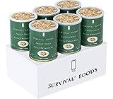 [#10大缶]野菜のクリームパスタ(パスタ・プリマヴェラ)×6缶セット[6缶詰合/1ケース] サバイバルフーズ 60食分