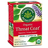 Traditional Medicinals Traditional Medicine Throat Coat Tea, 32.03 g