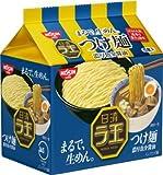日清ラ王 つけ麺 濃厚魚介醤油 1ケース(30食)(5P入×6袋)