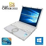 【Microsoft Office2010搭載】【Win 10搭載】Panasonic CF-R9/新世代Core i7 1.02GHz/ハードディスク 250GB/10.4インチ/無線LAN搭載/中古ノートパソコン (メモリー4GB)