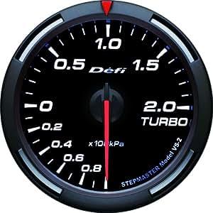 日本精機 Defi (デフィ) メーター【Racer Gauge】60φ ターボ計 (ホワイト) DF-11506