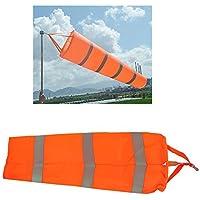Airport WindsockWind Cone 80cm Long Outside Wind Sock Windsock Outdoor Wind Sock Bag with Reflective Belt [並行輸入品]