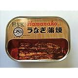 浜名湖食品 うなぎ蒲焼缶詰 × 5缶セット 【全国こだわりご当地グルメ】