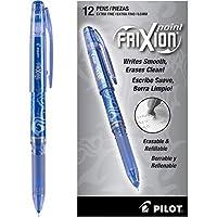 パイロット フリクション ボール極細ポイント消去可能なゲルのペン株式オープン ブルー