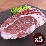 リブアイステーキ 牛肉 5枚 ステーキ セット リブロース(300g x5=1.5kg)極厚切りオージービーフ グラスフェッドビーフ Ribeye Steak 5pcs Set Australian Beef SKU107