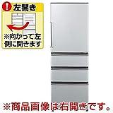 アクア 355L 4ドア冷蔵庫(ミスティシルバー)【左開き】AQUA AQR-361FL-S
