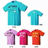 ヨネックス(YONEX) UNI ドライTシャツ 16301Y 【受注会限定】 (M, DP/ダークピンク)
