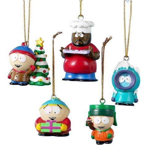 サウスパーク5パッククリスマスツリーの装飾テレビカートマンはクリスマスシェフ新規プレゼンツ