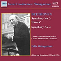 Great Conductors: Weingartner Symphonies 3 & 4