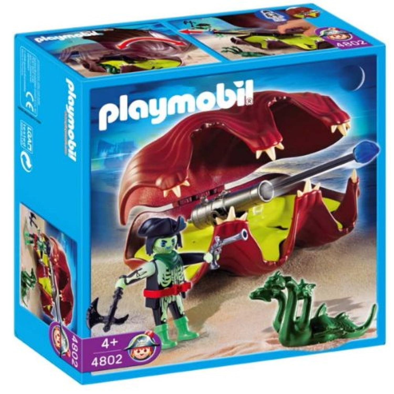 プレイモービル playmobil 幽霊海賊 お化け貝の大砲と幽霊海賊 4802