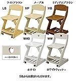 木製チェア 板座 学習机用 WC-16 木製椅子 木製イス 学習椅子 学習チェア 学習イス キッズ用チェア (LBライトブラウン)