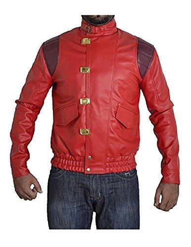 Akira Kaneda Capsule Red Leather Jacket / 金田晃カプセルレッドレザージャケット Excliria