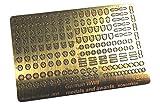 ラドミニチュア 1/35 第二次世界大戦 ドイツ軍 兵科メダル&勲章 エッチングパーツセット プラモデル用パーツ RDM35PE04