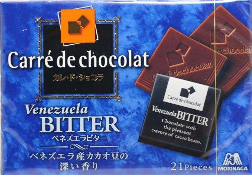 森永製菓 カレ・ド・ショコラ<ベネズエラビター> 21枚入×6箱