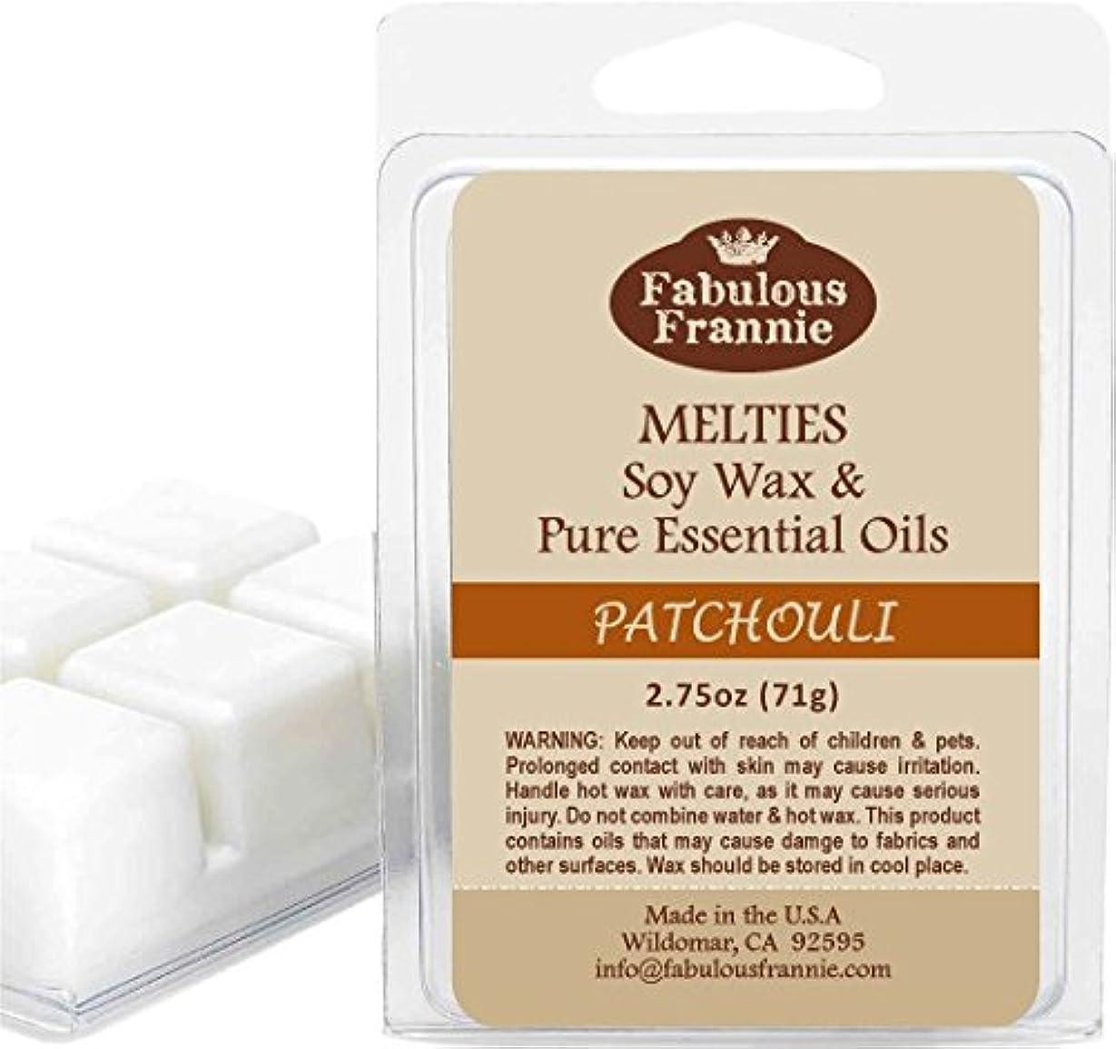 生理資格スーツ2.5 oz Patchouli 100% Soy Wax Meltie/Tart/Melt made with Pure Essential Oil by Fabulous Frannie