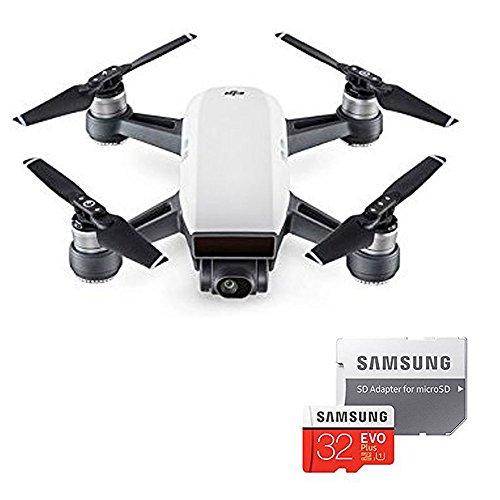 【国内正規品】Spark Fly More combo (アルペンホワイト) Amazon スペシャルセット(+ micro SDカード32GB)