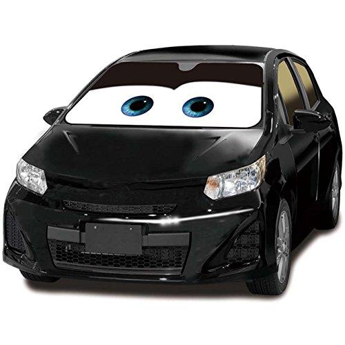 ナポレックス 車用サンシェード ディズニーカーグッズ カーズ ブラック 車...