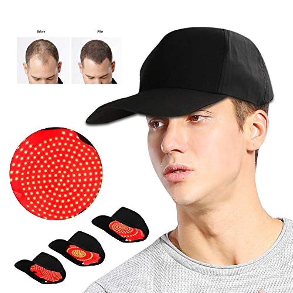 調整可能分離電気の髪の成長の帽子、ホットコンプレッサーシステムと調整可能な抗脱毛キャップ、脱毛オイルコントロールクリアヘルメットインスツルメント女性女性屋外使用(280個)