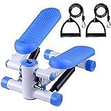 Yescom Aerobic Mini Stepper Step Machine Air Stair Climber Exercise Cardio Fitness Home Blue