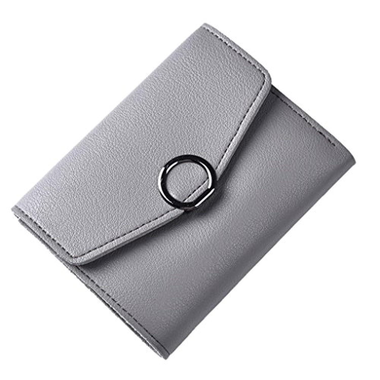 Eldori レディース 3つ折り財布 可愛い レザー 財布 二つ折り 小銭 カード 入れ 多機能 シンプル 上品 優雅