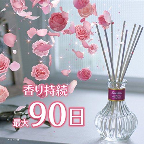 『サワデー香るスティック日比谷花壇セレクト 消臭芳香剤 詰め替え用 イングリッシュガーデン 70ml』の4枚目の画像