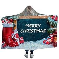 クリスマスブランケットは、毛布をスローブランケットソフト暖かい毛布ケープマントスロー子供の大人のためのラップ,26,S(1.3Mx1.5M)