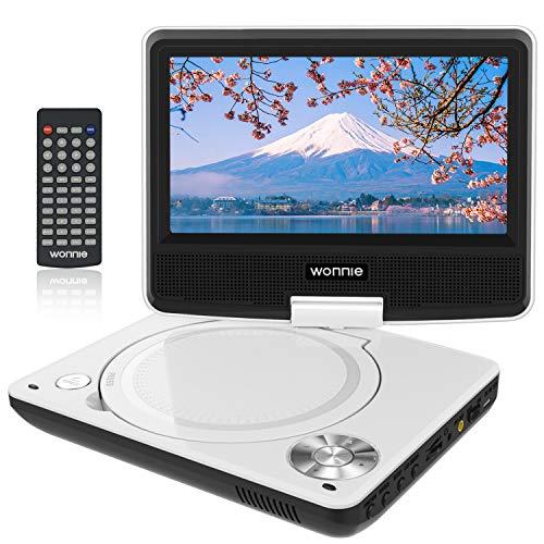WONNIE ポータブルDVDプレーヤー JP-WN-DVDplayer B07MZ3K446 1枚目