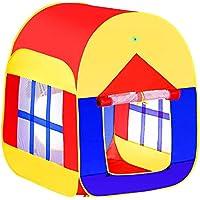 walomes Kids Play TentゲームPlayhouseインドアアウトドア子供Pop UpテントBoys Girls 1 – 5歳子供おもちゃ、インドアアウトドア幼児用Pop Up Play Tent /家ビーチテント庭の草原( 1パック)
