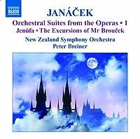 ヤナーチェク:オペラからの管弦楽組曲集 第1集