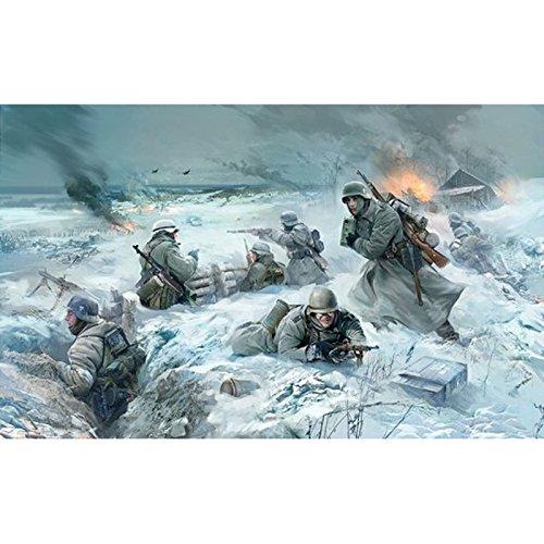 1/35 ドイツ歩兵セット (1941/42 冬季服)