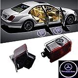 ZNYLSQ LED レーザーロゴライト ドアウェルカムライト LED投影 ゴーストシャドウ 2個セット Mercedes Benz W212 W205