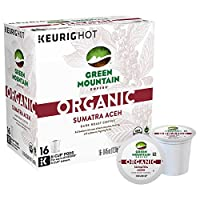 Green Mountain Coffee Organic Sumatra Aceh Keurig K-Cups, 16 Count [並行輸入品]