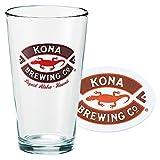 ハワイお土産   コナビール グラス&コースターセット 【153637】