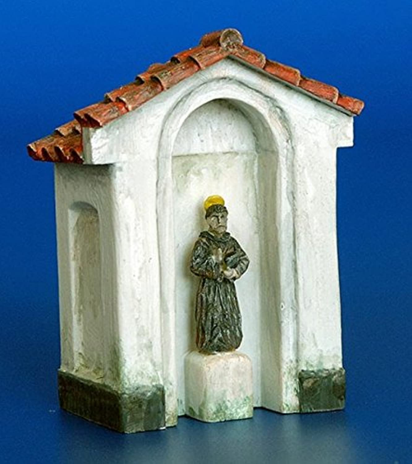 プラスモデル1 : 48 Chapel with a statue Resin Diorama Accessory # 4024