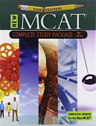 Download 9th Edition Examkrackers MCAT Complete Study Package 1893858707
