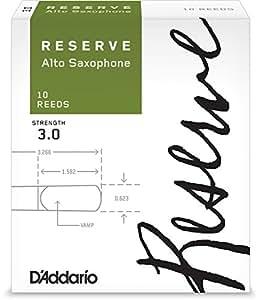 D'Addario  リード レゼルヴ アルトサクソフォーン 強度:3.0(10枚入) ファイルドカット DJR1030