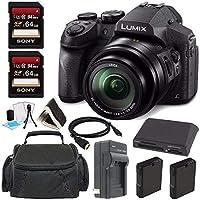 Panasonic Lumix DMC - fz300デジタルカメラ+ 64GBグリーンのカメラバンドル6