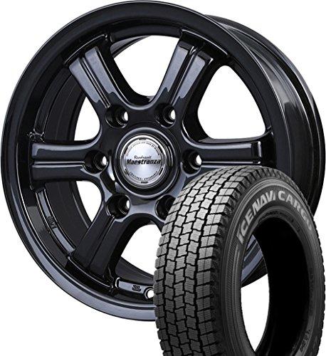 (200系ハイエース)スタッドレスタイヤ・ホイール 1本セット 15インチ GOODYEAR(グッドイヤー) ICE NAVI(アイスナビ)カーゴ  195/80R15 107/105L  + レンブラント マエストランサ -