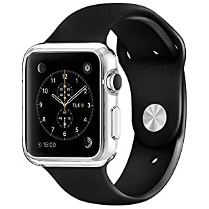 Apple Watch ケース, Spigen? アップル ウォッチ (42mm) リキッド・クリスタル 【国内正規品】 (2015) (リキッド・クリスタル【SGP11495】)