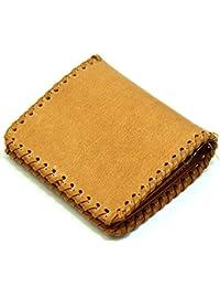 ce4109463e7f (ビームズスクエア)BEAMZSQUARE バッファロー 革 二つ折り財布 メンズ ショートウォレット キャメル [ブランド