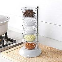 Creative Rotatable Jars Kitchen Storage Cans
